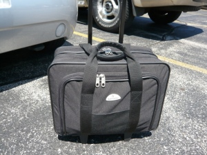samsonite rolling laptop case