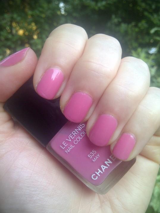 Chanel Le Vernis May 535 nail polish